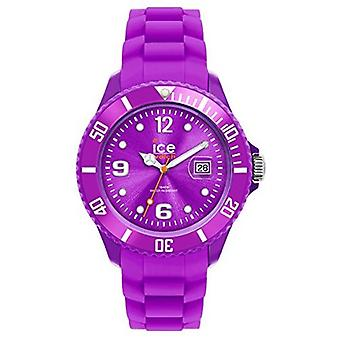 Ice-Watch Unisex SI. PE. U.S.09 Sili Collection lila Kunststoff und Silikon-Uhr
