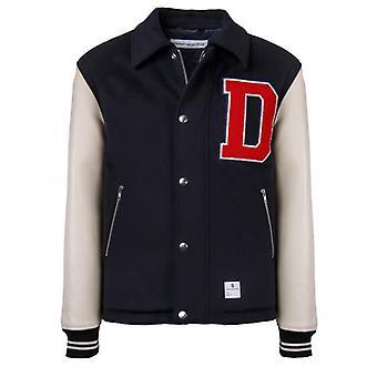 Department 5 Spider Navy Blue Varsity Jacket