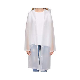 Raincoat Women Waterproof Rain Ponchos Long Rainwear Packable