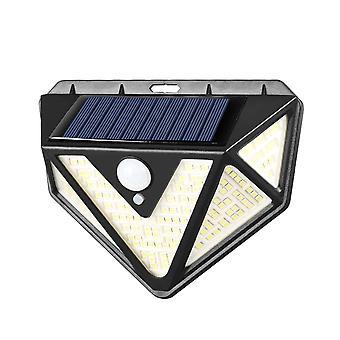 Ogrodowy słoneczny czujnik ruchu Pir z ochronnym oświetleniem ściennym 4 szt