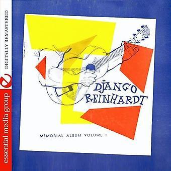 Django Reinhardt - Django Reinhardt: Vol. 1-Memorial Album [CD] USA import