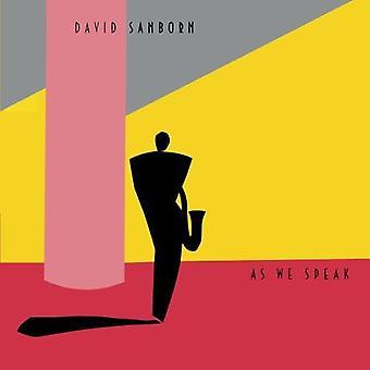 David Sanborn - importação EUA como falamos [CD]