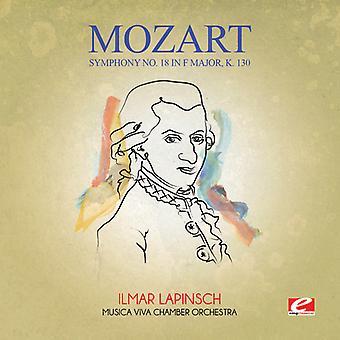 Mozart - Symfonie No. 18 in F grote K. 130 [CD] USA import