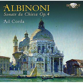 T. Albinoni - Albinoni: Sonate Da Chiesa Op. 4 [CD] USA import