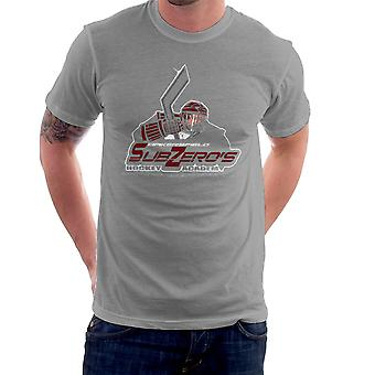 Sub Zero Hockey Academy Running Man Men's T-Shirt