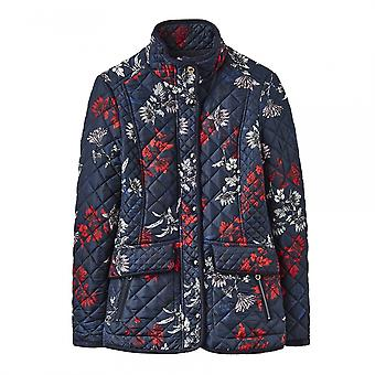 Joules Joules Newdale Printed Womens Coat (X)