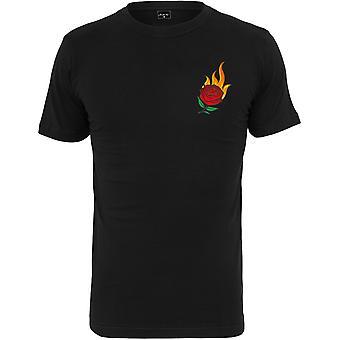 Mister tee shirt - BRUNING ROSE black