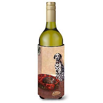 Dalmate quelqu'un est dans mon lit de vin, boisson bouteille isolant Hugger