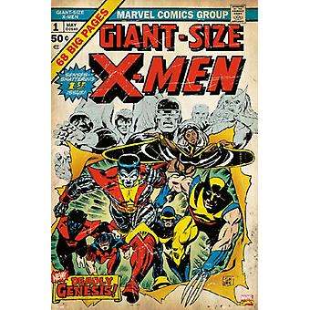 X-Men - Marvel Cover #1 Poster Poster Print