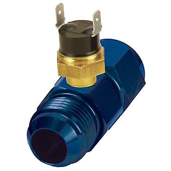 Derale 35027 -10AN x -10AN Premium 190 Degree In-Line Fluid Thermostat