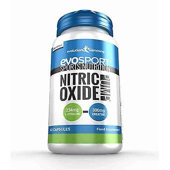 EvoSport nitrogenoxid pumpe - 60 kapsler - sportsernæring - Evolution slankende