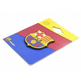 FC Barcelonan virallinen jalkapallo Crest jääkaappimagneetti