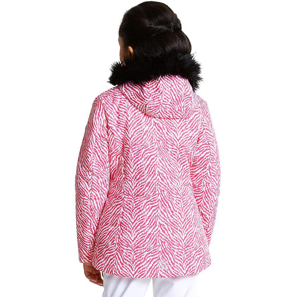 Dare 2b Girls Entrust II Polyester Waterproof Breathable Coat Jacket