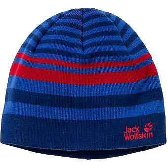 Jack Wolfskin Boys & Girls Cross Knit Warm Yarn Cap Beanie Hat