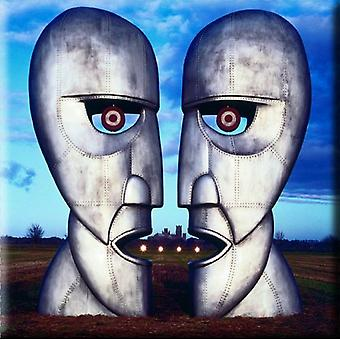 Pink Floyd frigo Magnet The Division Bell Metal Heads nouveau officiel 76 mm x 76 mm