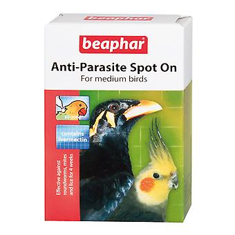 Beaphar Anti-Parasite Spot On For Medium Birds  4 week Treatment