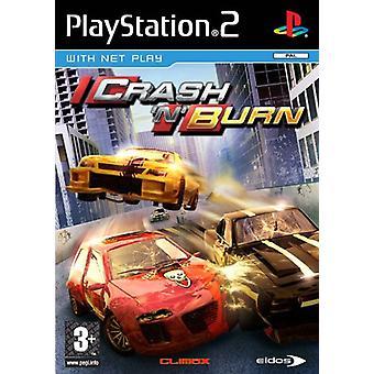 Crash n Burn (PS2) - Nieuwe fabriek verzegeld