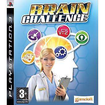 Brain Challenge (PS3) - New