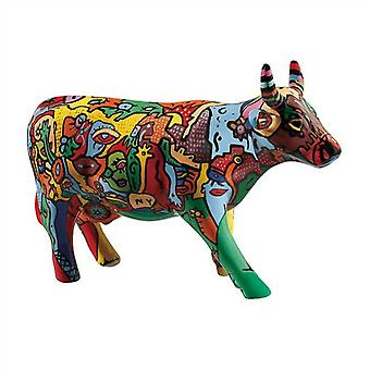 Cow Parade Moo York Celebration (medium ceramic)