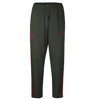 2018-2019 Bayern Munich Adidas Woven Pants (utilitaire Ivy) - Kids