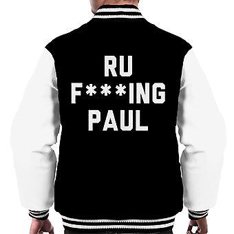Ru Fking Paul miesten yliopistojoukkue takki