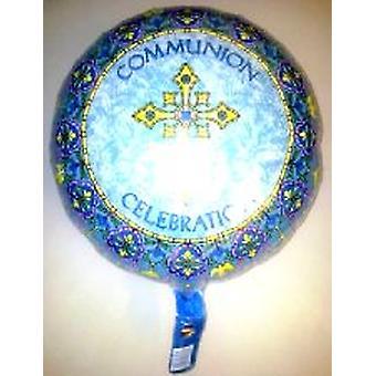 Foil Balloon 'COMMUNION CELEBRATION'