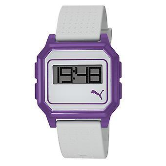 PUMA montre bracelet watch Mesdames plates écran blanc violet PU910951007