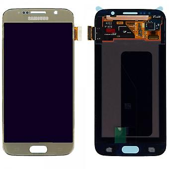 Display LCD complete set GH97-17260 C touch gold for Samsung Galaxy S6 G920 G920F