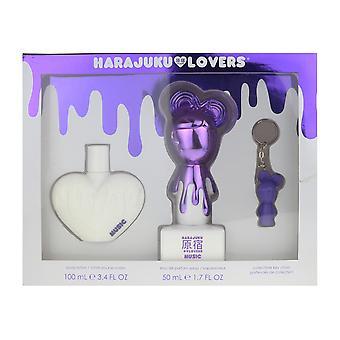 Harajuku iubitorii de muzica 3 bucata cadou set