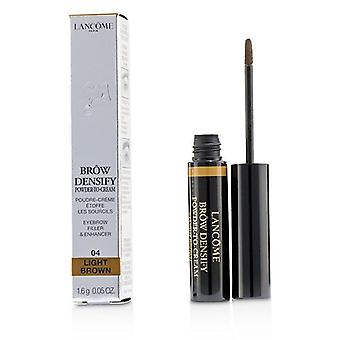 Lancome Brow Densify Powder To Cream - # 04 Light Brown - 1.6g/0.05oz