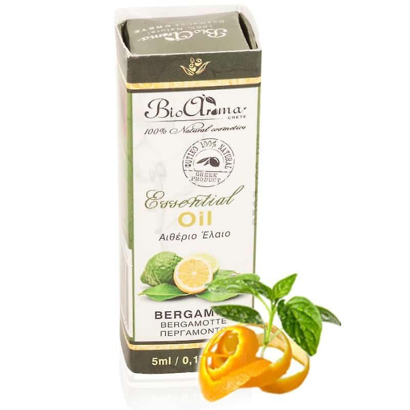Óleo essencial de bergamota 5ml. Para aromaterapia em casa.
