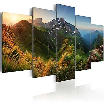 Canvas Print - Green Valley