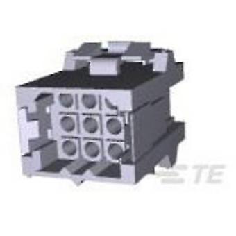 TE Connectivity Socket kotelo - kaapeli Metrimate määrä nastat 9 yhteystiedot välistys: 5 mm 207440-1 1 PCs()