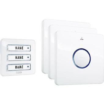 m-e modern-electronics 41097 Wireless door bell Complete set
