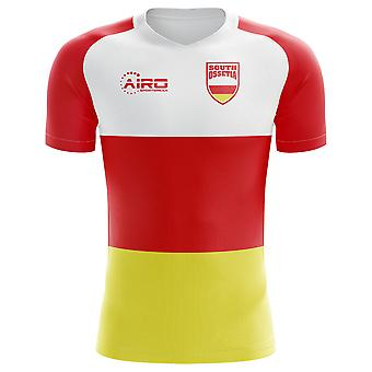 2020-2021 South Ossetia Home Concept Voetbalshirt