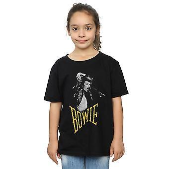 David Bowie flickor skrika foto T-Shirt