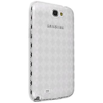Technocel Clear reglaget hud för Samsung Galaxy Note II - klart