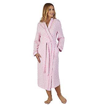 Slenderella HC2108 Women's Meadow Jersey Floral Robe Dressing Gown