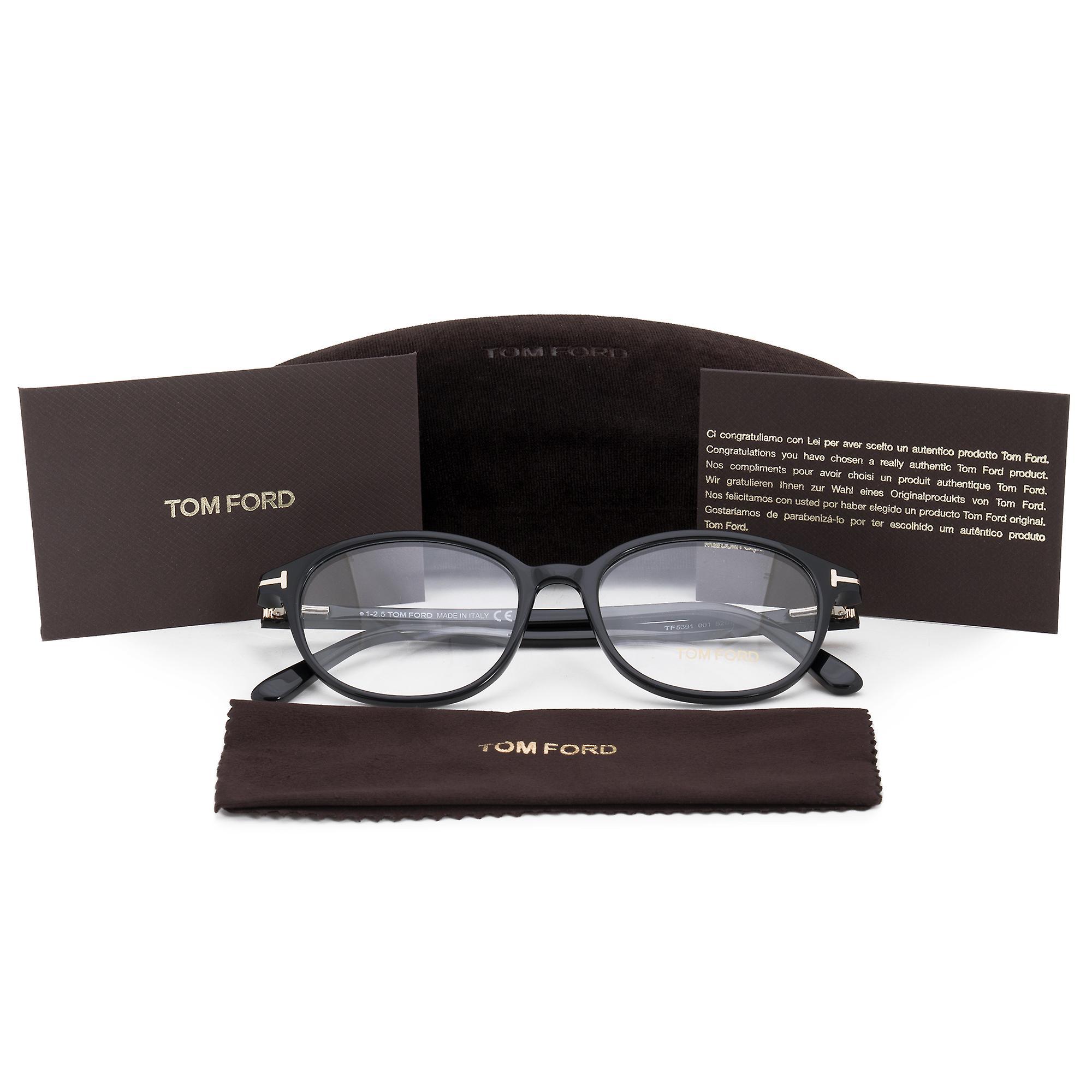Tom Ford FT5391 1 Square | Black| Eyeglass Frames