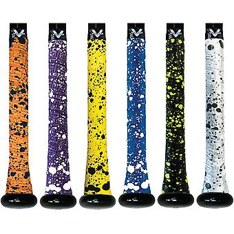 Vulcan Splatter Serie 1,0 mm Ultraleicht Advanced Polymer Bat Grip Tape Wrap