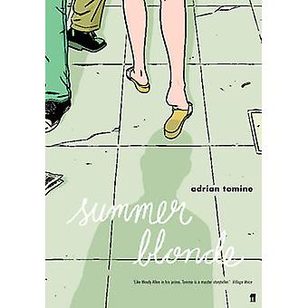 Rubia de verano (principal) por Adrian Tomine - libro 9780571233427