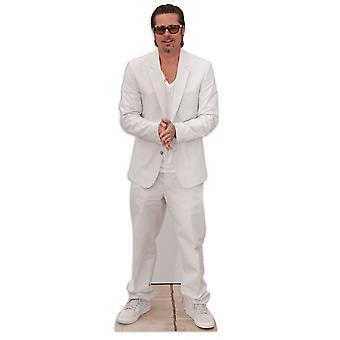 Brad Pitt Lifesize Karton Ausschnitt / f / Standup