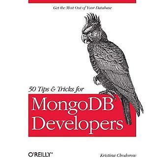 50 dicas e truques para os desenvolvedores do MongoDB