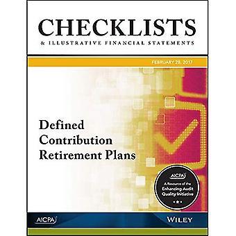 Controlelijsten en illustratieve financiële verklaringen 2017: toegezegde-bijdragenregelingen pensioen (AICPA)
