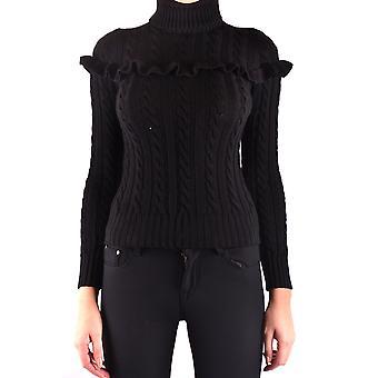 Filosofia Por Lorenzo Serafini Ezbc087011 Feminino's Suéter de Lã Preta