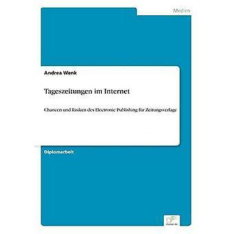 Tageszeitungen im InternetChancen und Risiken des Electronic Publishing fr Zeitungsverlage de Wenk et Andrea