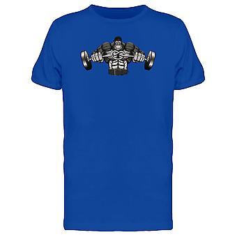 Strong Gorilla Barbell Tee Men's -Image by Shutterstock