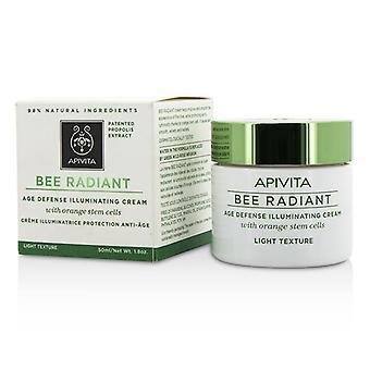 Apivita Bee Radiant Age Defense Illuminating Cream - Light Texture - 50ml/1.76oz