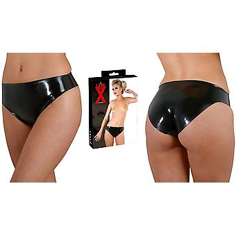 Late-X' Shiny Latex Simple Panties