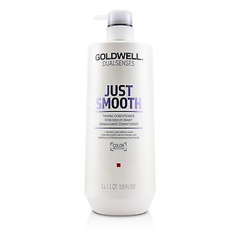 Goldwell Dual Senses Just Smooth Taming Conditioner (control For Unruly Hair) - 1000ml/33.8oz